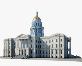 3D model of Colorado State Capitol