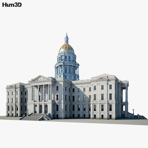 Colorado State Capitol 3D model