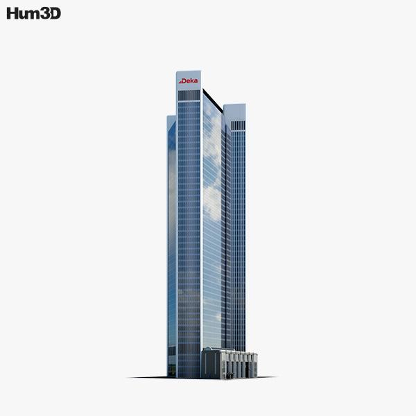 Frankfurts Trianon building 3D model