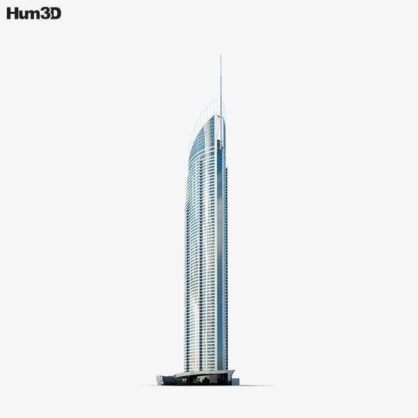 Q1 tower 3D model
