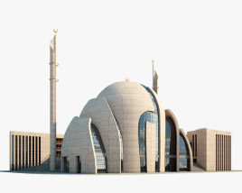 Cologne Central Mosque 3D model