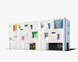 3D model of Sugamo Shinkin Bank Tokiwadai Branch