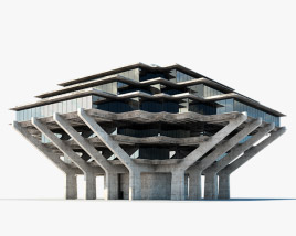 3D model of Geisel Library