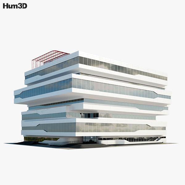 Dominion Office Building 3D model