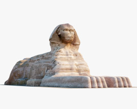 Great Sphinx of Giza 3D model