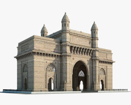 3D model of Gateway of India