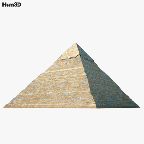 3D model of Pyramid of Khafre
