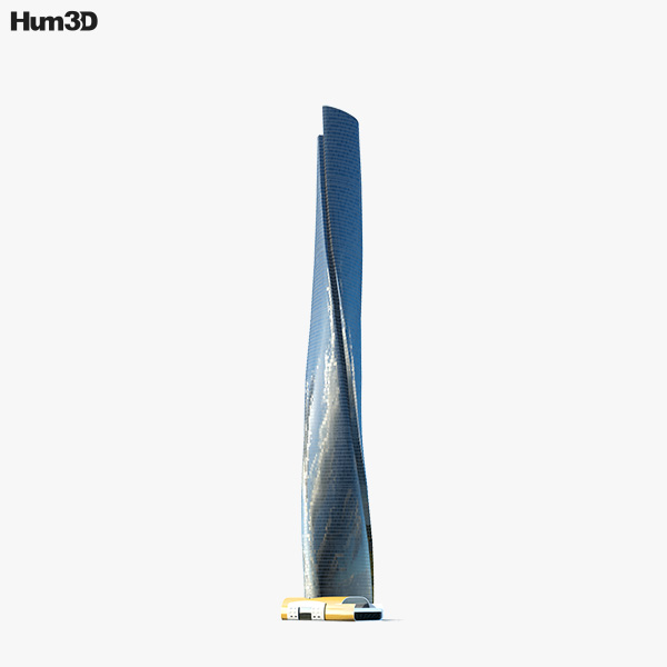 Shanghai Tower 3D model