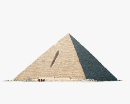 3D model of Pyramid of Menkaure
