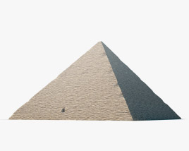 3D model of Pyramid of Cheops