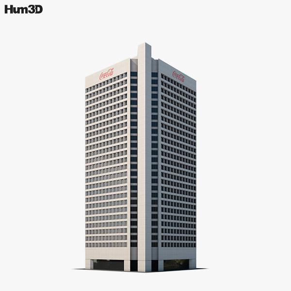 Coca Cola headquarters 3D model