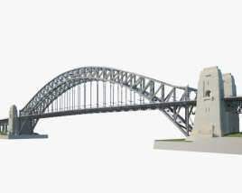 3D model of Sydney Harbour Bridge