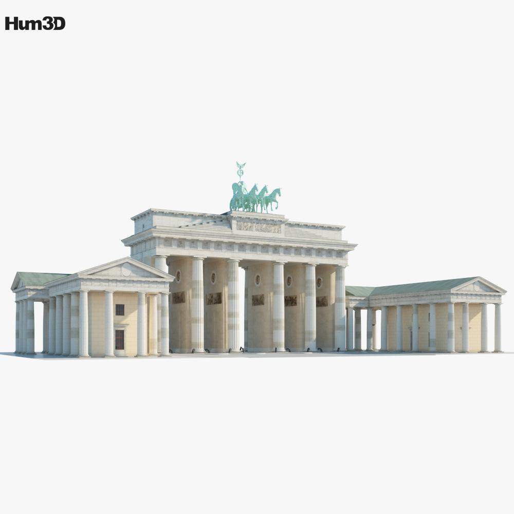 3D model of Brandenburg Gate