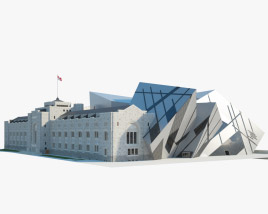 3D model of Royal Ontario Museum