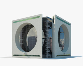 Calakmul Corporate Building Mexico 3D model