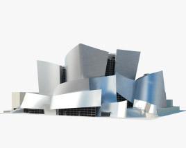 3D model of Walt Disney Concert Hall