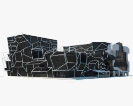 Southbank Theatre 3D model