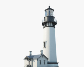 3D model of Yaquina Head Lighthouse