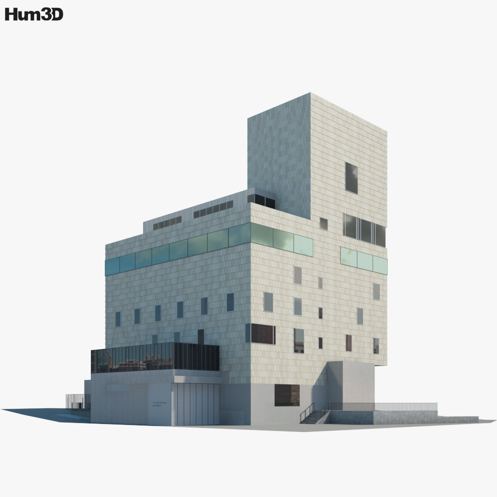 3D model of The New Art Gallery Walsall