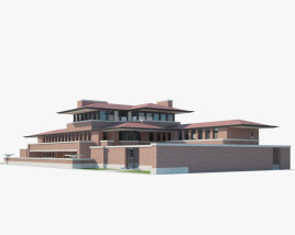 3D model of Robie House