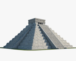 3D model of Pyramid of Kukulkan