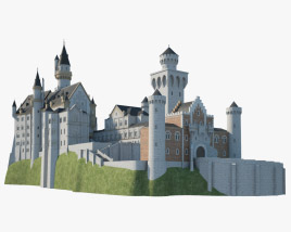 3D model of Neuschwanstein Castle