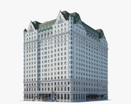 3D model of Plaza Hotel