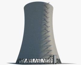 Сooling tower Satsop 3D model