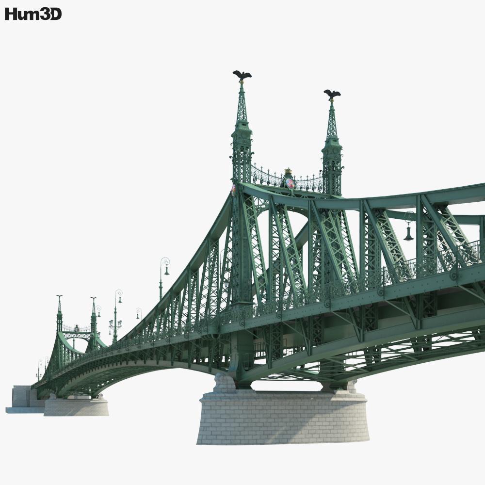 Liberty Bridge 3D model