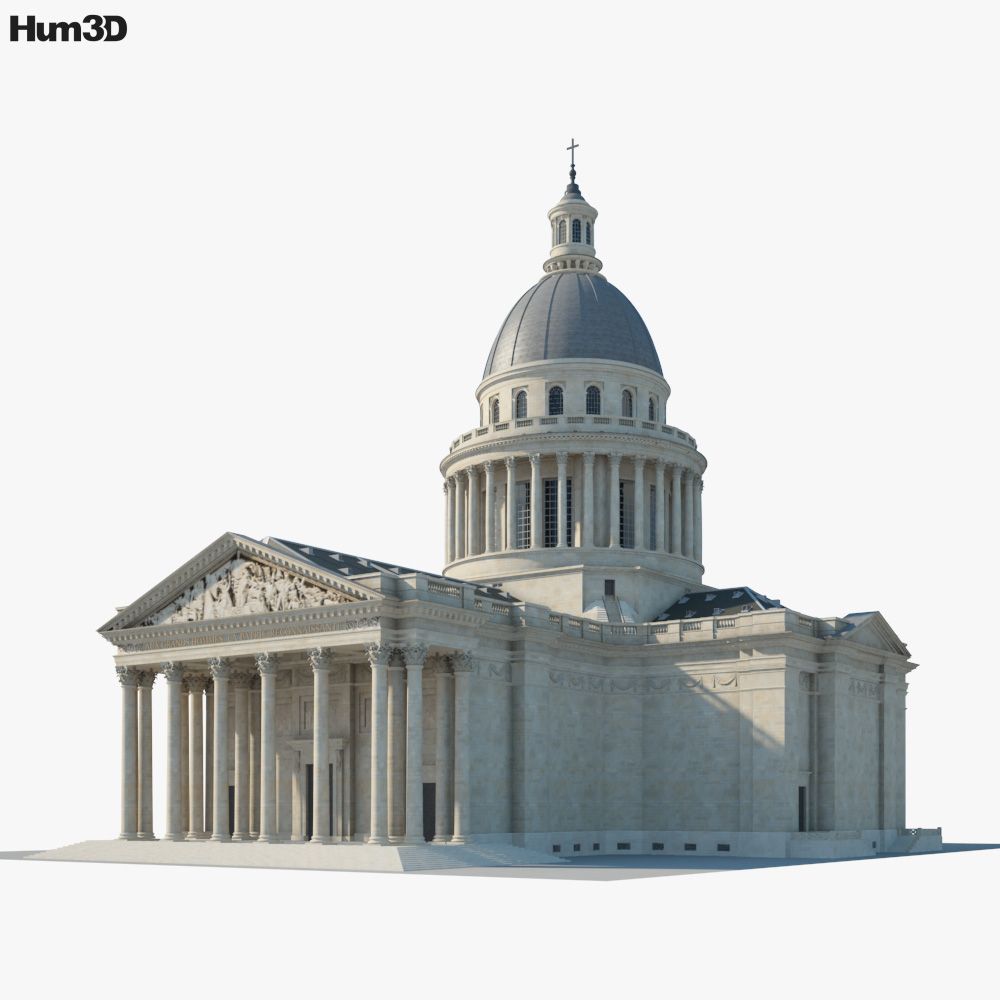 3D model of Pantheon Paris