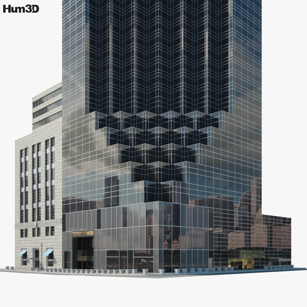 Trump Tower 3d model