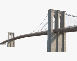 3D model of Brooklyn Bridge