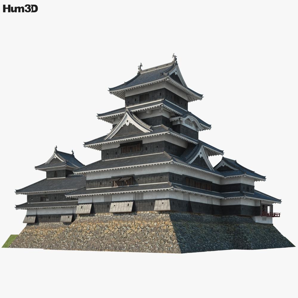 Matsumoto Castle 3D model