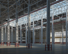 3D model of Warehouse 01