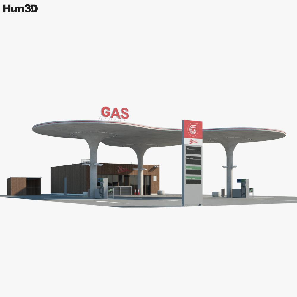 CS Gas Matuskovo 3D model
