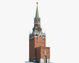 3D model of Kremlin Clock