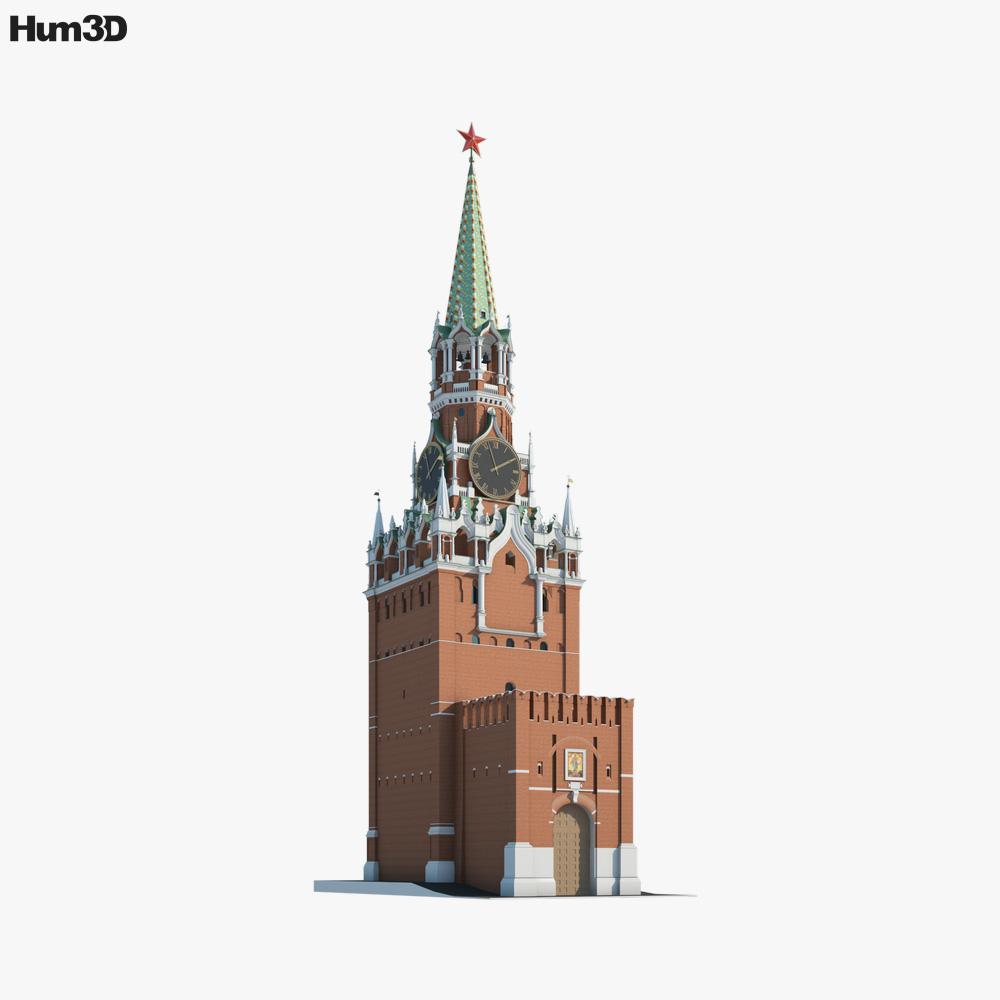 Kremlin Clock 3D model