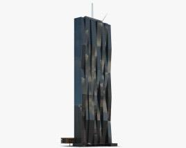 DC Tower 3D model