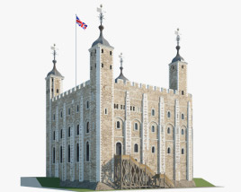 Tower of London 3D model