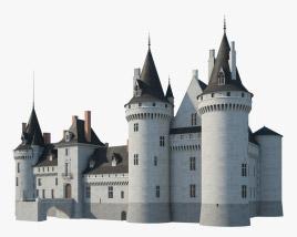 3D model of Castle of Sully sur Loire