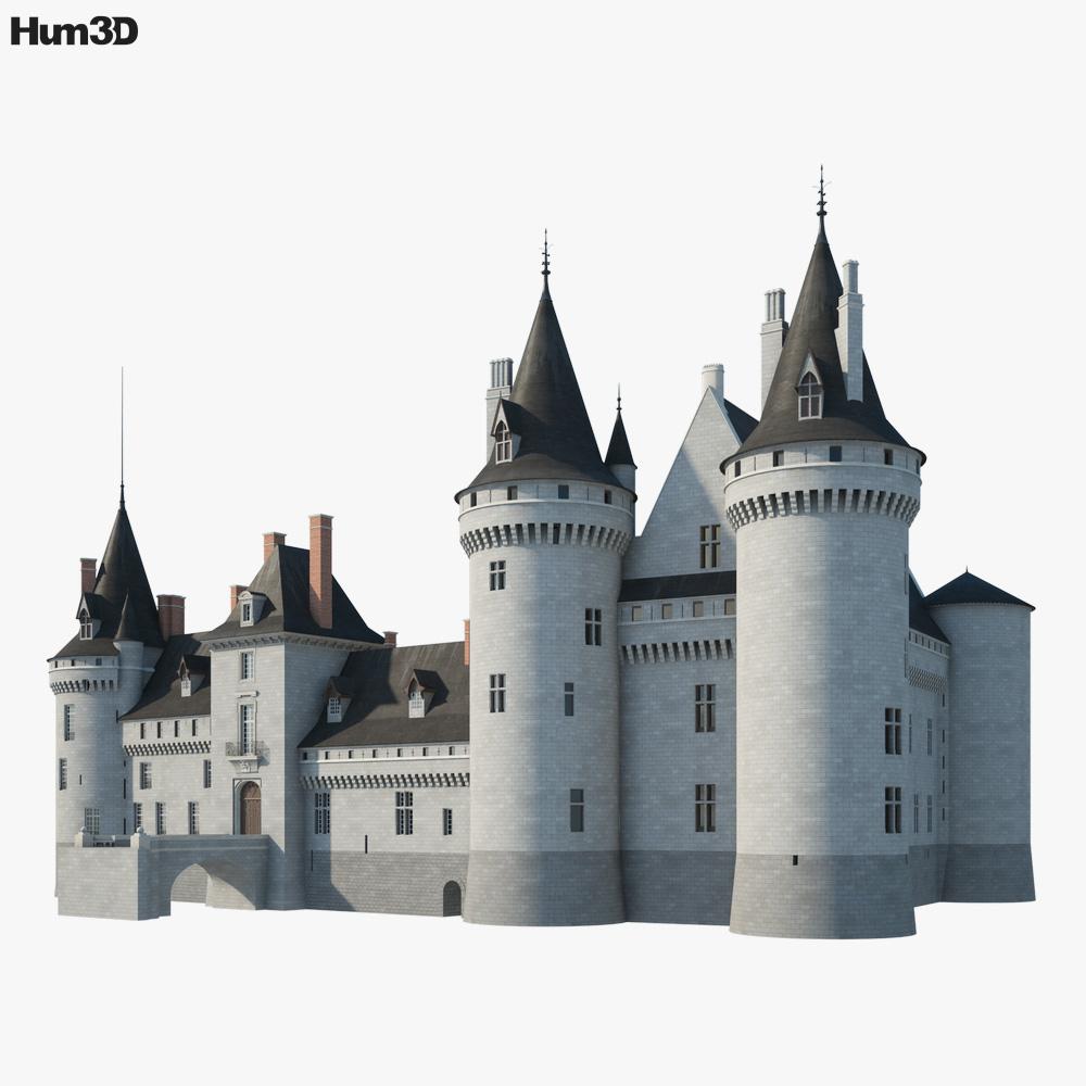 Castle of Sully sur Loire 3D model