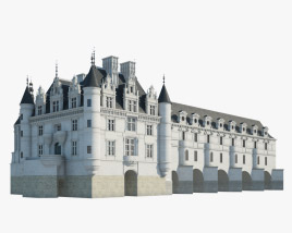 Castle of Chenonceau 3D model
