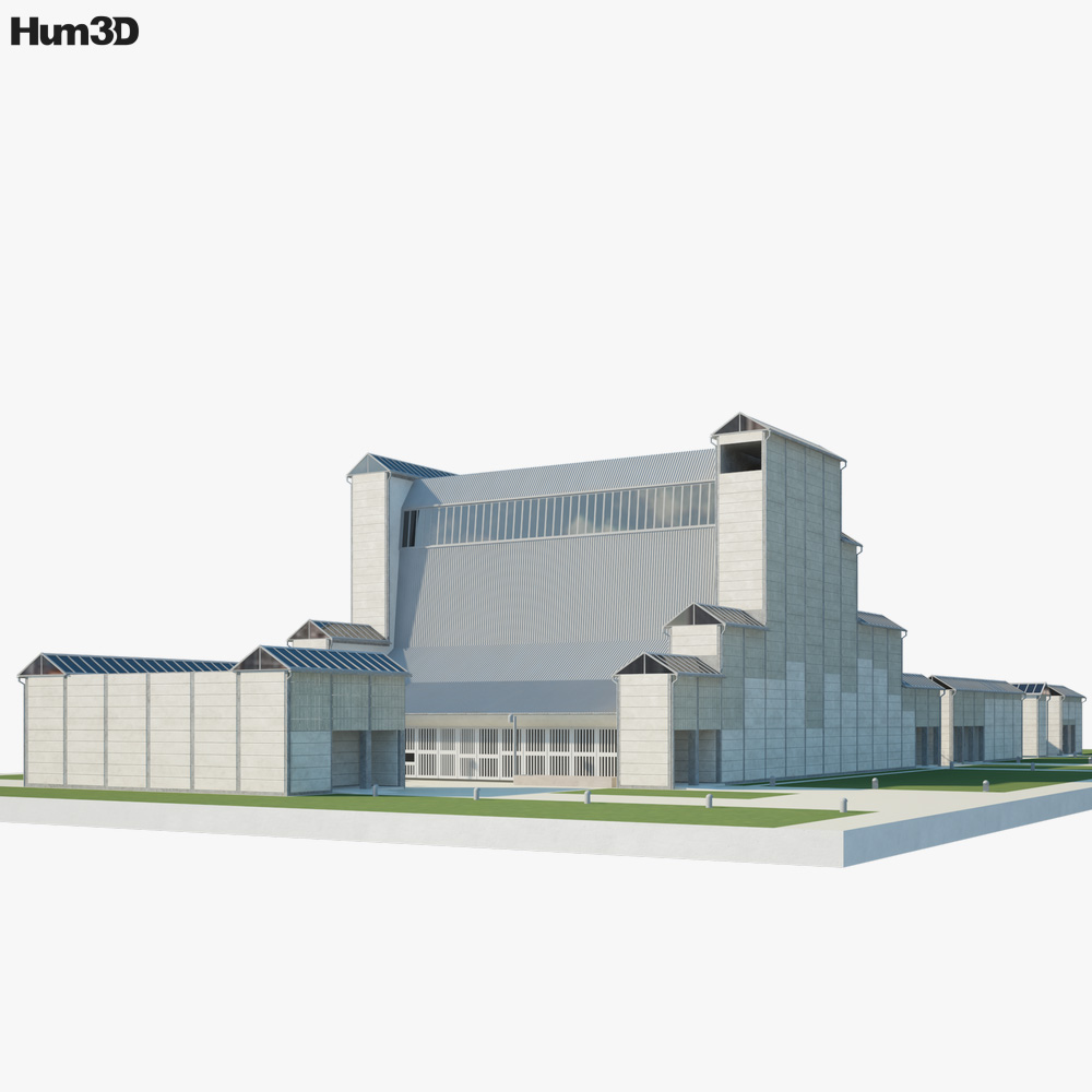 3D model of Bagsvaerd Church