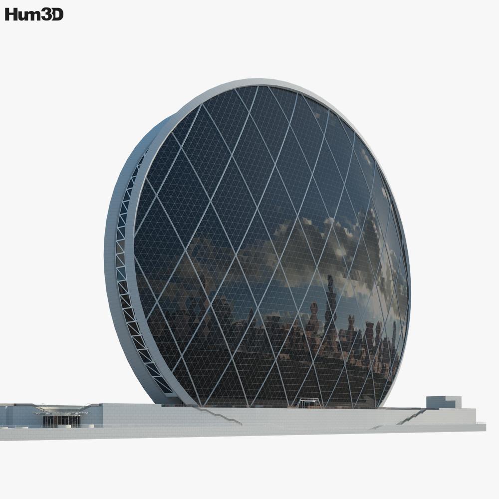 Aldar headquarters building 3d model
