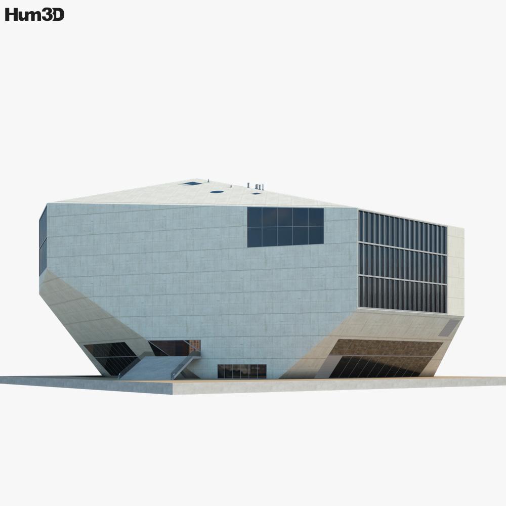 Casa da Musica 3D model