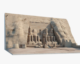 3D model of Abu Simbel