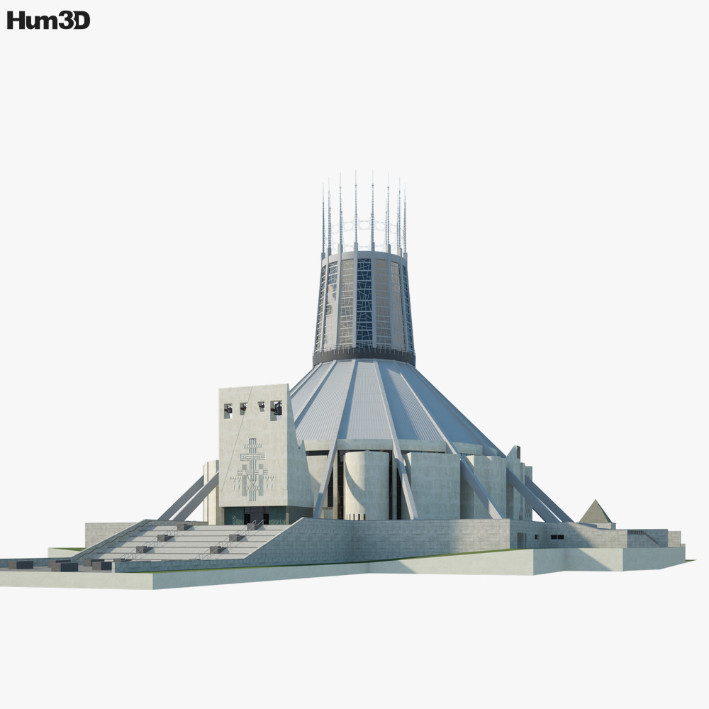 Liverpool Metropolitan Cathedral 3D model