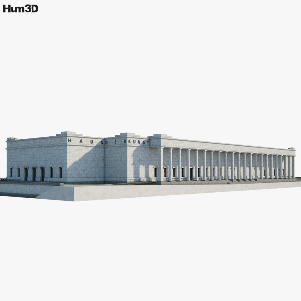 Haus der Kunst 3d model