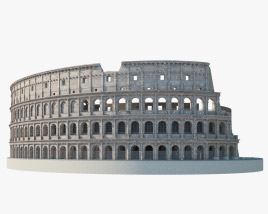 3D model of Colosseum