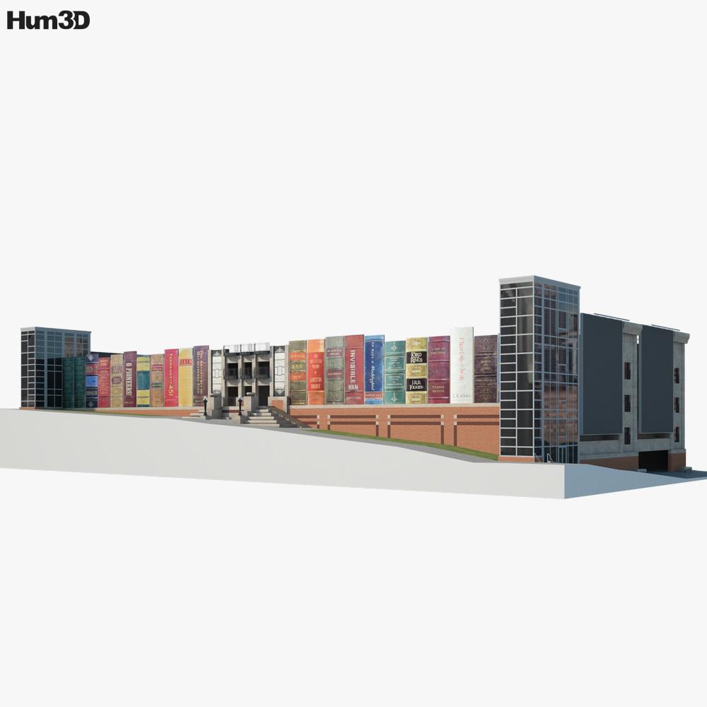 Kansas City Public Library 3D model